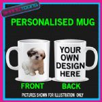 SHIH TZU DOG PET CUTE MUG GIFT BIRTHDAY PRESENT